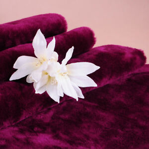 Decke Bettüberwurf Sofaüberwurf violett 150x200cm Soft Line Acryl/Polyester