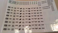 Aufkleber für LEGO 7745 Eisenbahn Sticker Train