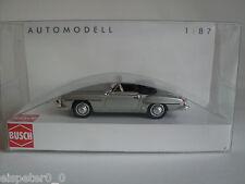 Busch 9838893 , MB 190 SL, Cabrio ABIERTO año 1955 ,Plata, H0 Auto Modelo 1:87