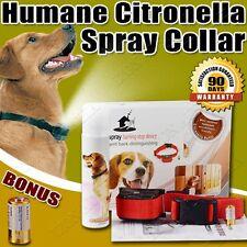 Automatic Humane Citronella Anti Bark Spray Collar Stop Dog Training No Barking