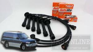 Mitsubishi Pajero NL 6G74 3.5L 08/97~06/00 V6 IGNITION LEADS SPARK PLUG KIT