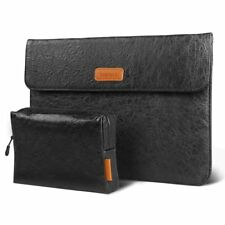 Inateck 13 Inch Dupont Paper Black Laptop Sleeve For MacBook Pro Surface Pro