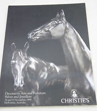 Decorative Arts Furniture Silver Jewellery Reference Book Christies 1994 LAYBY