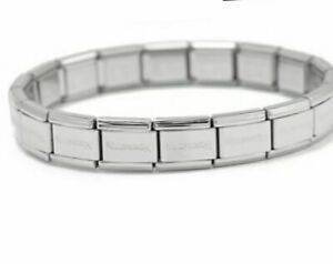 Italian Starter  Bracelet With Nomination Logo 9mm 16 Links - Free Gift Pouch