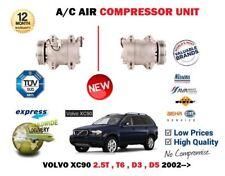 Pour Volvo XC90 2.5T T6 D3 D5 2002- > Neuf AC Air État Compresseur Unité