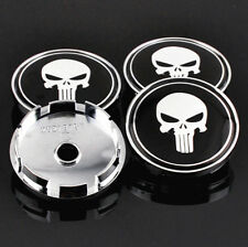 4x 61mm/ 56mm Skull Wheel Center Cap Car For Legacy Forester Tribeca Wheel