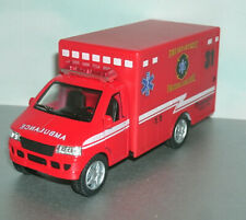 1/40 Scale Ambulance Diecast Model Fire Dept Paramedic EMS Rescue Van Truck