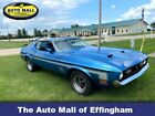 1972 Ford Mustang Mach One 1972 Ford Mustang Mach One 6,525 Miles Blue American Muscle Car Select Automatic