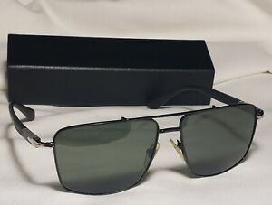 Persol Black green Sunglasses 2430-S 1022/31 58-15-145 3N