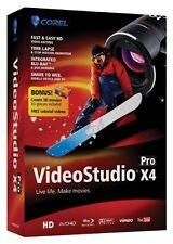 New Corel VideoStudio Pro X4 Sealed Retail Box Windows 7, Vista, & XP