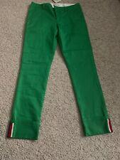 Gucci Boy Pants Organic Cotton Green Bottle Size 12