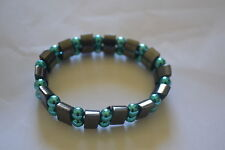 Fashion Healing Hematite Bracelet for Arthritis and Blood Pressure(HE-BR18)