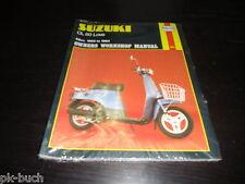 Repair Manual Workshop Manual Suzuki Cl 50 Love 49 cc 1983 - 1984