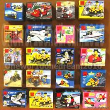 Lot of 20 kinds Mini FigureSets Building Toys Bricks Lots City Space Police Girl