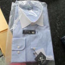"Para Hombre Hackett L/S Shirt 17.1/2""/44 ""Mayfair Tailored"" mwtags Ganga Look!!!"