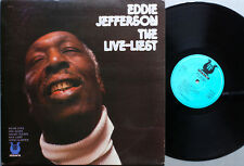 "Eddie Jefferson ""The Live-Liest""/ LP Muse Records (Fr)"