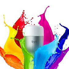 Xiaomi Yeelight Smart LED Bulb RGB Colour E27 Screw 220V 9W APP Alexa Echo IFTTT