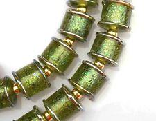 FRISKEY handmade Lampwork Glass Beads, FOREST!!