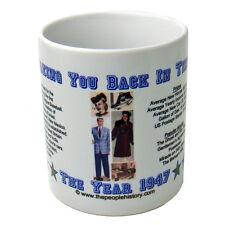 1947 Year In History Coffee Mug Includes Gift Box Born In 1947 Birthday Gift