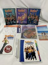 Beachbody ~ Turbo Jam ~ Dvd's and Cookbook, Results Guidebook ~New