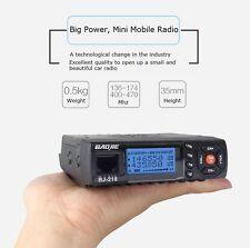 Baojie MINI Mobile Radio BJ-218 144/430MHz 25W Transmit PowerDual Band Car Radio