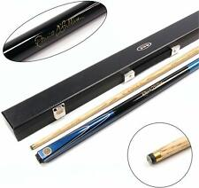 BCE Ronnie O'Sullivan BLUE MERLIN 2pc Ash Pool Snooker Cue & BCE HARD CASE