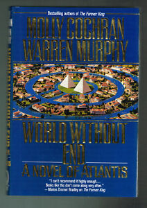World Without End by Warren Murphy and Molly Cochran (1996, Hardcover 1st Pr.)
