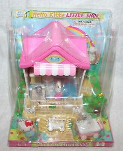 Sanrio Hello Kitty Little Shop Pet Shop Mini Playset with Hello Kitty Figure NIB