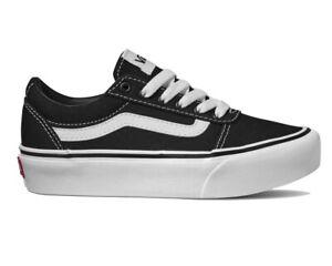 VANS Black Shoes for Girls for sale | eBay