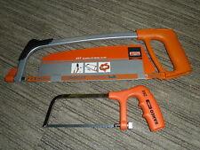 """BAHCO 12"""" 300mm HACKSAW + 6"""" 150mm JUNIOR Genuine Blade Frame BRAND NEW! 317 268"""