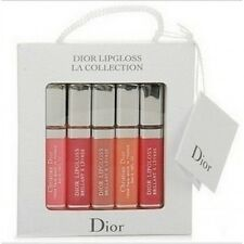 DIOR  TRAVEL SIZE 5 PEACE LIP GLOSS GIFT SET  Boxed