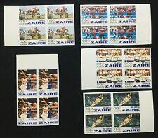 Zaire Atlanta Olympic 1996 MN Block Imperf Table Tennis Boxing USA China Germany