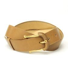 vintage 80's gucci men's belt camel brown size 95(38inch)