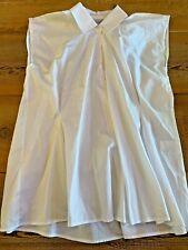 Harshman L.A. Mica Popover Shirt, Blouse, White, NWT, Size XS