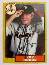 Robert Redford autographed auto Aceo baseball card The Natural Roy Hobbs