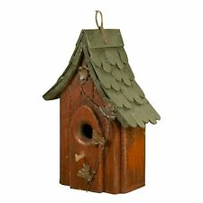 Carson Home Accents Shingle Roof Birdhouse, 12-Inch