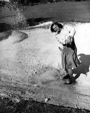 American Golfer BABE ZAHARIAS Glossy 8x10 Photo Sand Bunker Print Swing Poster