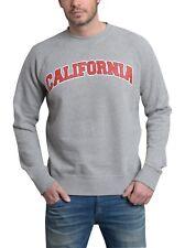 Herren Pullover / Sweatshirt / Pulli / Gr. XL, grau, Chiccheria Brand California