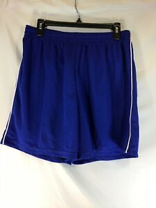 High Five Adult Large Blue Soccer Shorts NEW G-26