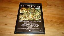 FLEET FOXES-framed advert