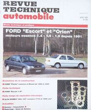 NEUF !  Revue technique FORD ESCORT ORION essence depuis 91 RTA 550 1993 fiesta