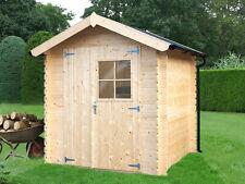 Bear County Gartenhaus Gerätehaus Geräteschuppen inkl. Dachpappe 200x200x225 mm
