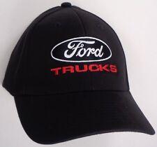 Hat Cap Licensed Ford Truck Trucks Black HR 127