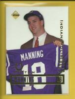 Peyton Manning RC 1998 Collector's Edge Promo ROOKIE Card # NNOB Colts Broncos