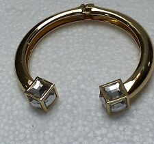 Art Deco Style Gold Plated  Flexible Braclet
