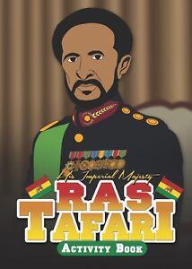 Ras Tafari, Fun & Educational, black history activity books, for children.
