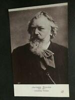 Vintage Postcard Johannes Brahms