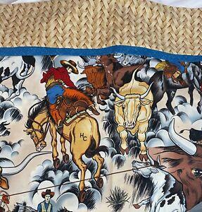 Cowboy Buckin Broncos Bull Rider Western Std Pillowcase Cotton Custom 20X29