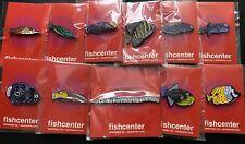 Adult Swim Streams FishCenter Live Promo Pin Set of 11 Ultra Rare!