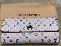 LOUIS VUITTON Monogram Purse Multicolor Auth MM2650